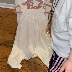 Old Navy White Jumpsuit 12-18m